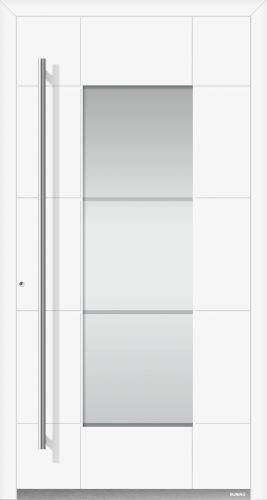 Aluminium Haustür – Höning – Marie